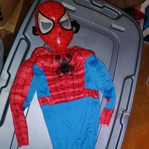 Other - Kids SpiderMan costume w/mask